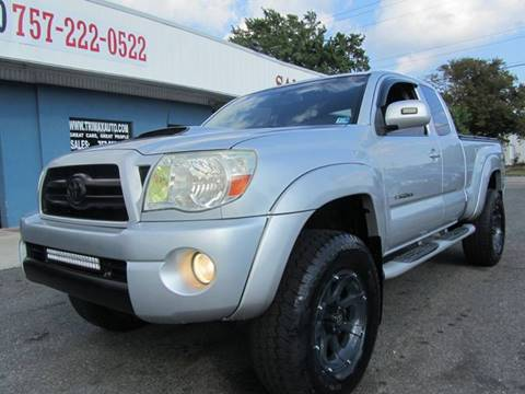 2007 Toyota Tacoma for sale at Trimax Auto Group in Norfolk VA