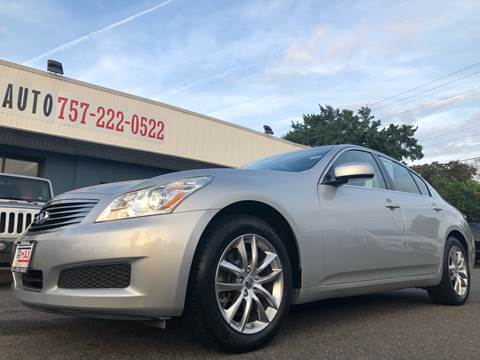 2008 Infiniti G35 for sale at Trimax Auto Group in Norfolk VA
