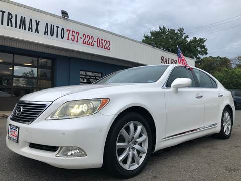 2007 Lexus LS 460 for sale at Trimax Auto Group in Norfolk VA