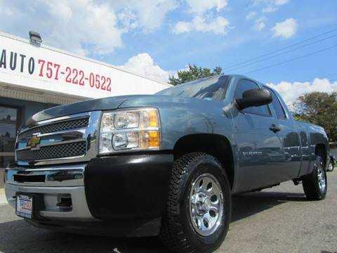 2012 Chevrolet Silverado 1500 for sale at Trimax Auto Group in Norfolk VA
