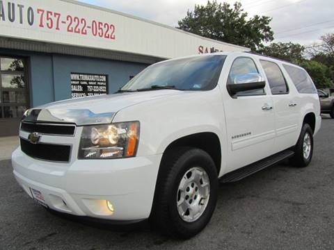 2010 Chevrolet Suburban for sale at Trimax Auto Group in Norfolk VA