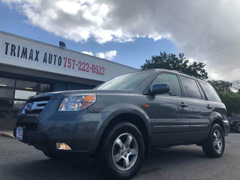 2007 Honda Pilot for sale at Trimax Auto Group in Norfolk VA