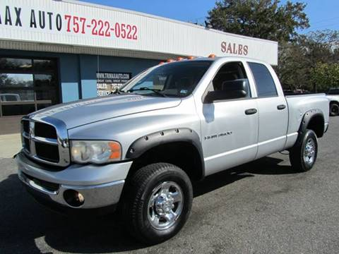 2003 Dodge Ram Pickup 3500 for sale at Trimax Auto Group in Norfolk VA