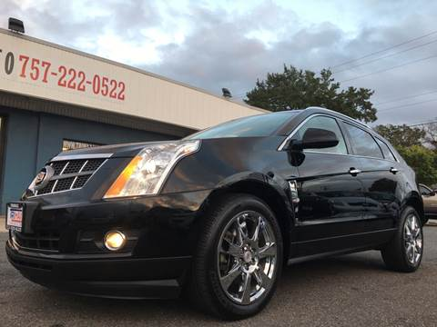 2010 Cadillac SRX for sale at Trimax Auto Group in Norfolk VA