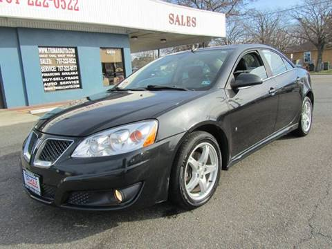 2009 Pontiac G6 for sale at Trimax Auto Group in Norfolk VA