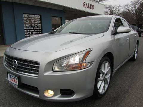 2009 Nissan Maxima for sale at Trimax Auto Group in Norfolk VA