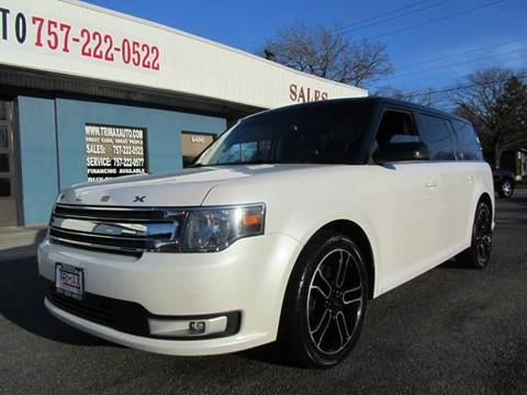 2013 Ford Flex for sale at Trimax Auto Group in Norfolk VA