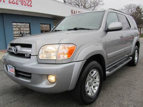 2006 Toyota Sequoia for sale at Trimax Auto Group in Norfolk VA
