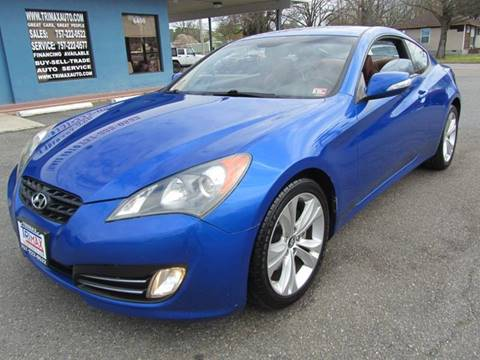2010 Hyundai Genesis Coupe for sale at Trimax Auto Group in Norfolk VA