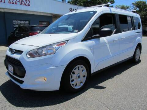 2016 Ford Transit Connect Wagon for sale at Trimax Auto Group in Norfolk VA