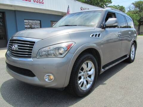 2014 Infiniti QX80 for sale at Trimax Auto Group in Norfolk VA