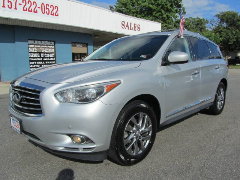 2014 Infiniti QX60 for sale at Trimax Auto Group in Norfolk VA