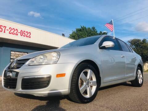 2007 Volkswagen Jetta for sale at Trimax Auto Group in Norfolk VA