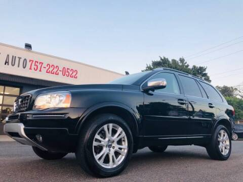 2014 Volvo XC90 for sale at Trimax Auto Group in Norfolk VA