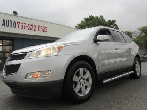 2010 Chevrolet Traverse for sale at Trimax Auto Group in Norfolk VA