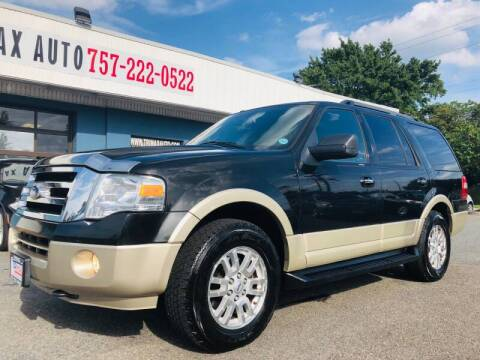 2010 Ford Expedition for sale at Trimax Auto Group in Norfolk VA