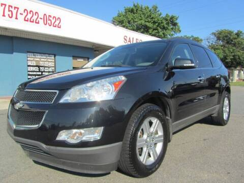 2012 Chevrolet Traverse for sale at Trimax Auto Group in Norfolk VA