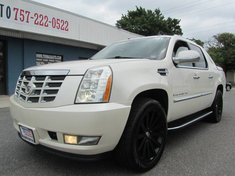 2008 Cadillac Escalade EXT for sale at Trimax Auto Group in Norfolk VA