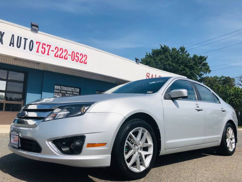 2010 Ford Fusion for sale at Trimax Auto Group in Norfolk VA