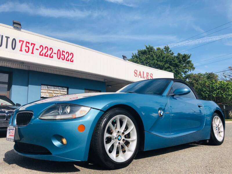 2005 BMW Z4 for sale at Trimax Auto Group in Norfolk VA