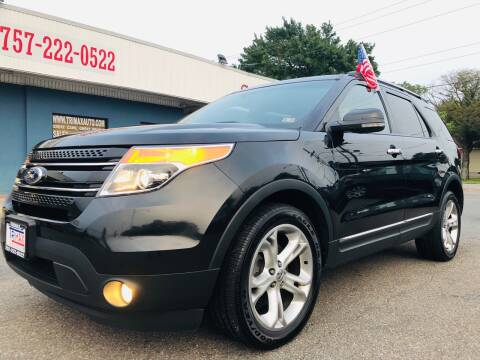 2011 Ford Explorer for sale at Trimax Auto Group in Norfolk VA