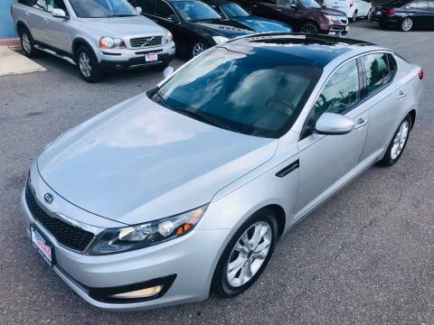 2011 Kia Optima for sale at Trimax Auto Group in Norfolk VA