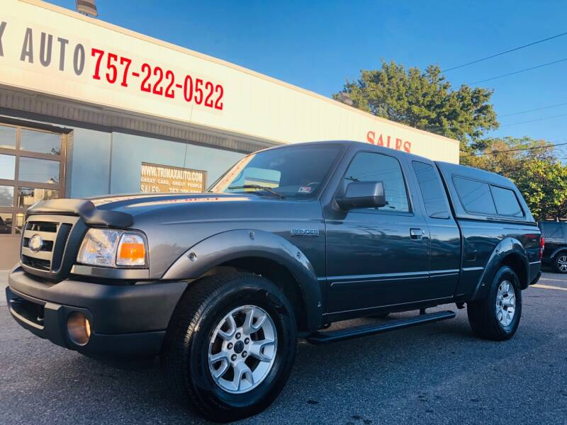 2011 Ford Ranger for sale at Trimax Auto Group in Norfolk VA