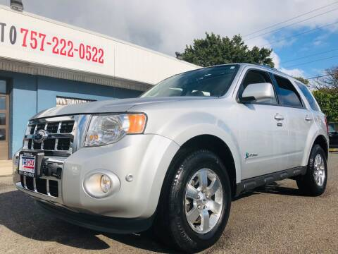 2012 Ford Escape Hybrid for sale at Trimax Auto Group in Norfolk VA