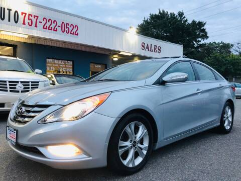 2011 Hyundai Sonata for sale at Trimax Auto Group in Norfolk VA