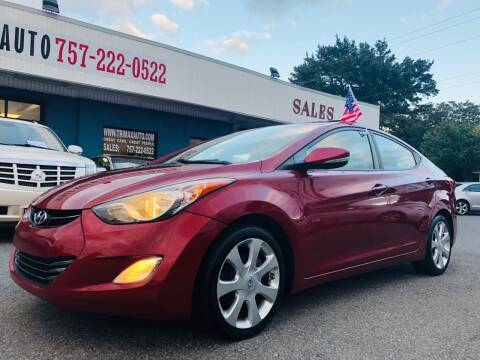 2012 Hyundai Elantra for sale at Trimax Auto Group in Norfolk VA