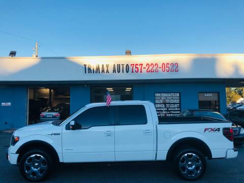 2014 Ford F-150 for sale at Trimax Auto Group in Norfolk VA
