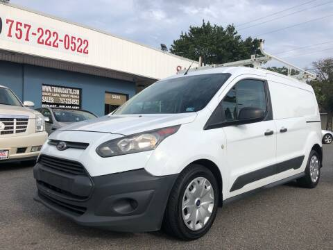 2015 Ford Transit Connect Cargo for sale at Trimax Auto Group in Norfolk VA