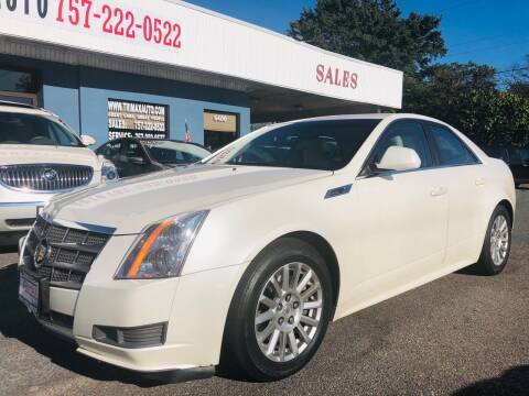 2011 Cadillac CTS for sale at Trimax Auto Group in Norfolk VA