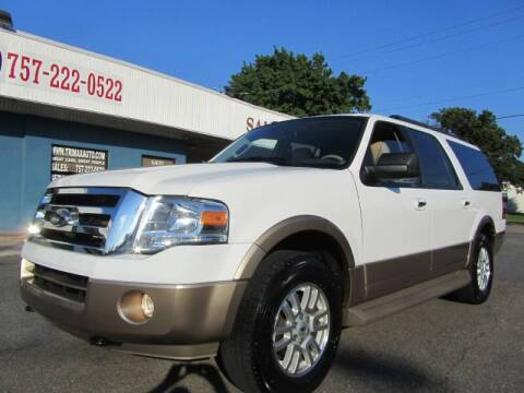 2014 Ford Expedition EL for sale at Trimax Auto Group in Norfolk VA