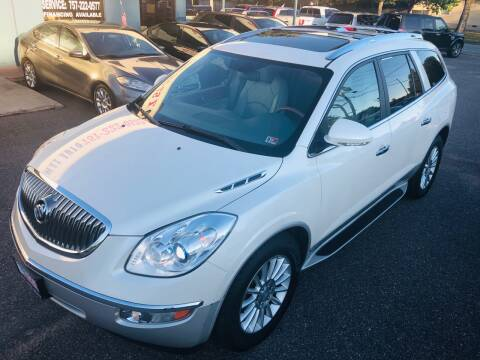 2010 Buick Enclave for sale at Trimax Auto Group in Norfolk VA