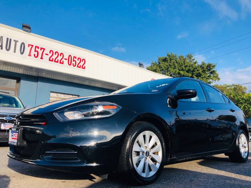 2014 Dodge Dart for sale at Trimax Auto Group in Norfolk VA