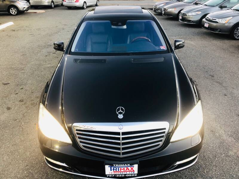 2010 Mercedes-Benz S-Class for sale at Trimax Auto Group in Norfolk VA