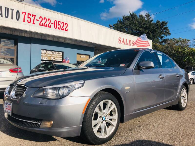 2010 BMW 5 Series for sale at Trimax Auto Group in Norfolk VA