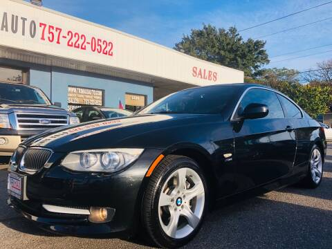 2011 BMW 3 Series for sale at Trimax Auto Group in Norfolk VA