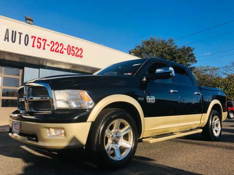 2012 RAM Ram Pickup 1500 for sale at Trimax Auto Group in Norfolk VA
