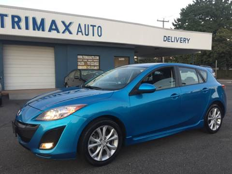 2010 Mazda MAZDA3 for sale at Trimax Auto Group in Norfolk VA