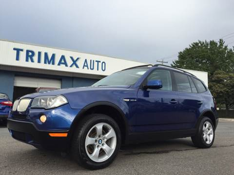 2007 BMW X3 for sale at Trimax Auto Group in Norfolk VA