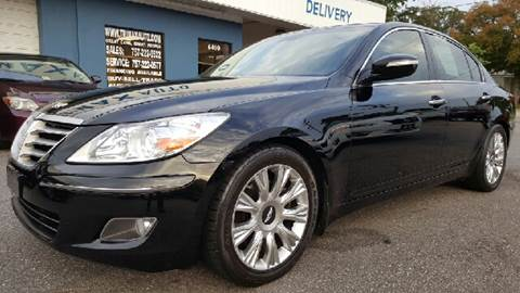 2009 Hyundai Genesis for sale at Trimax Auto Group in Norfolk VA