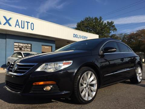 2009 Volkswagen CC for sale at Trimax Auto Group in Norfolk VA