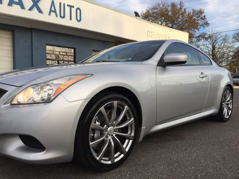 2008 Infiniti G37 Coupe for sale at Trimax Auto Group in Norfolk VA