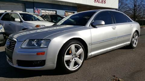 2007 Audi A8 for sale at Trimax Auto Group in Norfolk VA