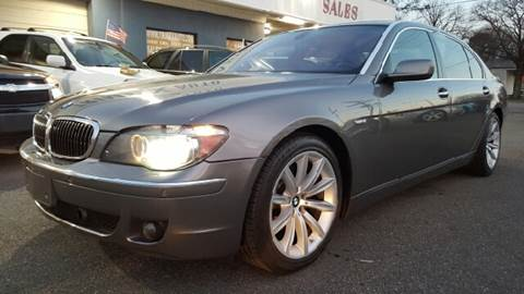 2007 BMW 7 Series for sale at Trimax Auto Group in Norfolk VA