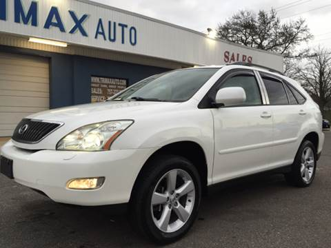 2005 Lexus RX 330 for sale at Trimax Auto Group in Norfolk VA