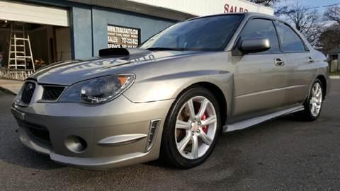 2006 Subaru Impreza for sale at Trimax Auto Group in Norfolk VA