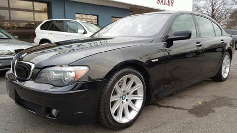 2006 BMW 7 Series for sale at Trimax Auto Group in Norfolk VA